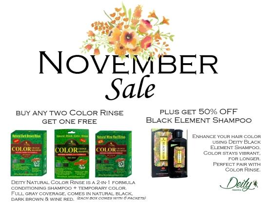 November Sale nov 8